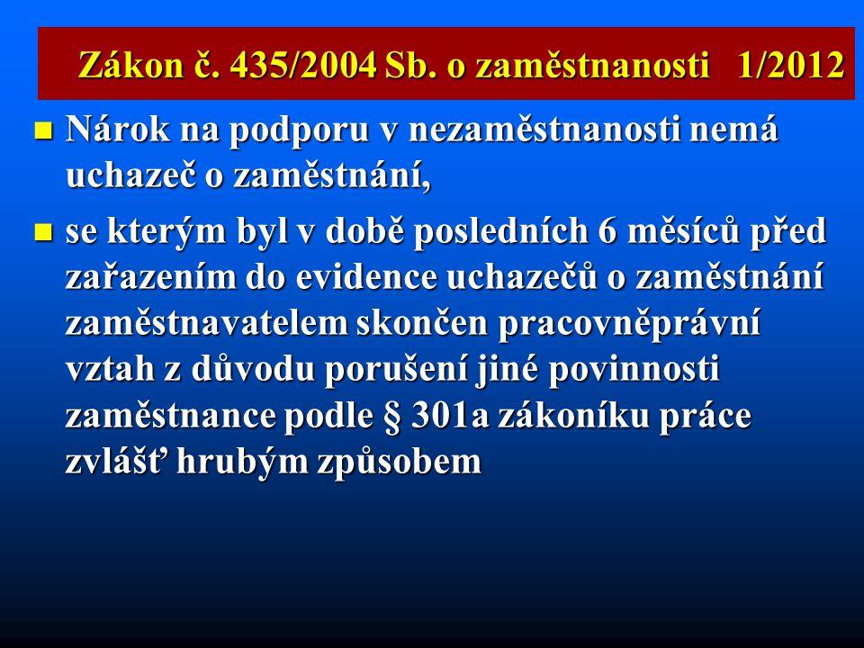  § 348  namísto dohody už jen povinnost projednat s odborovou organizací, zdali jde u zaměstnance o neomluvené zameškání práce Zákoník práce 1/2012