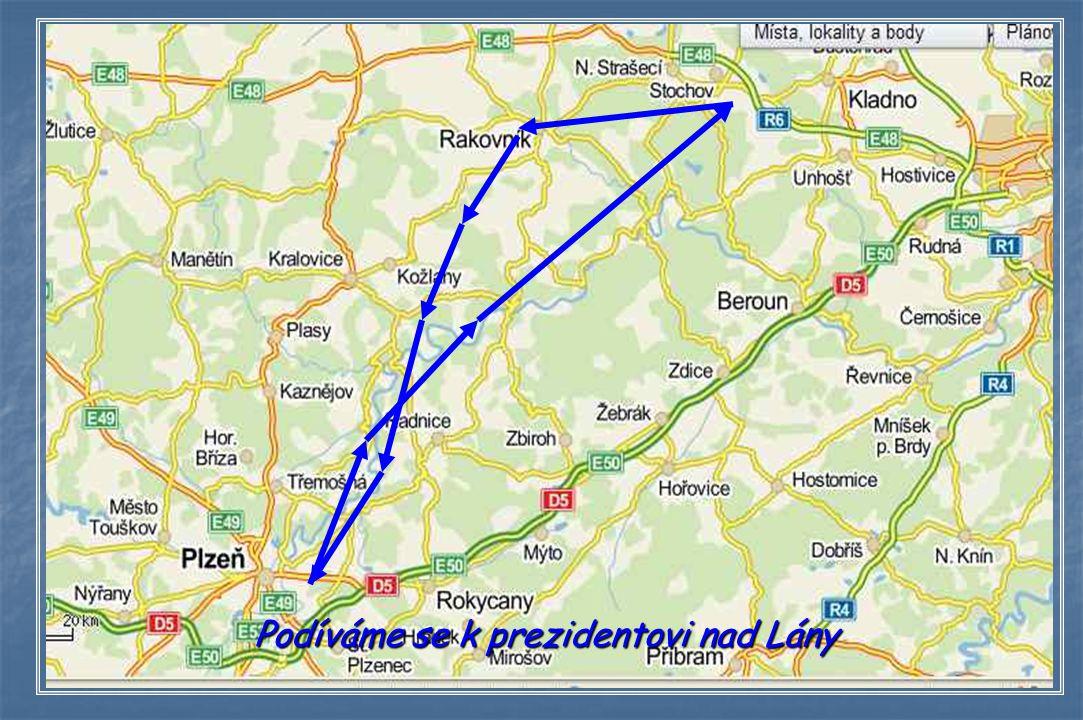 Z Plzně nad Lány 22.10.2013 12 35 – 13 56 hod. SEČ