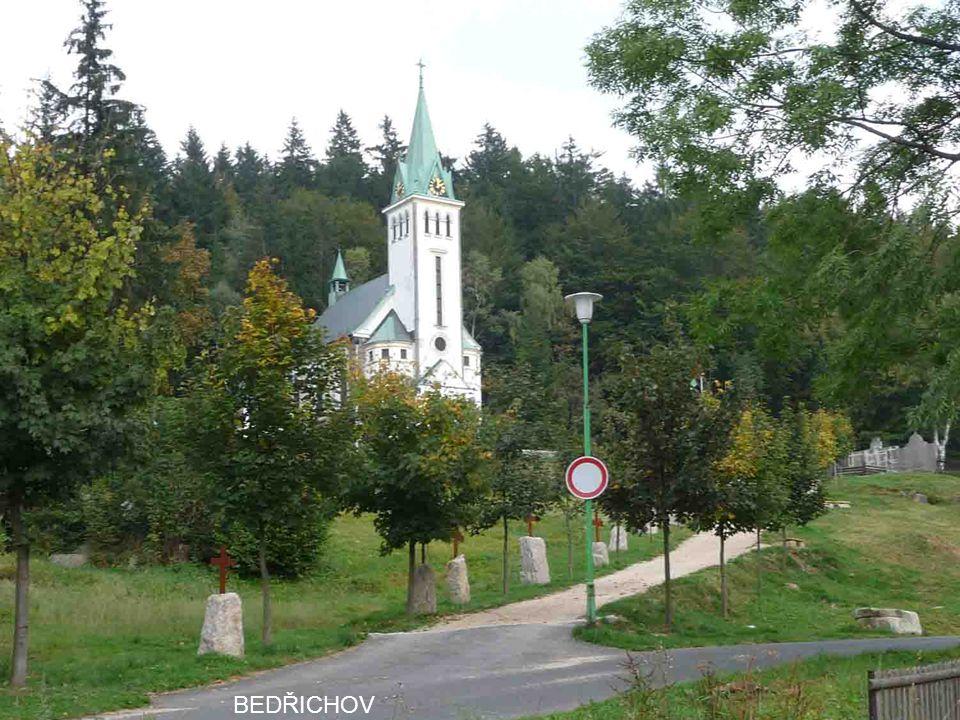 KRÁLOVKA (858 m) NAD BEDŘICHOVEM