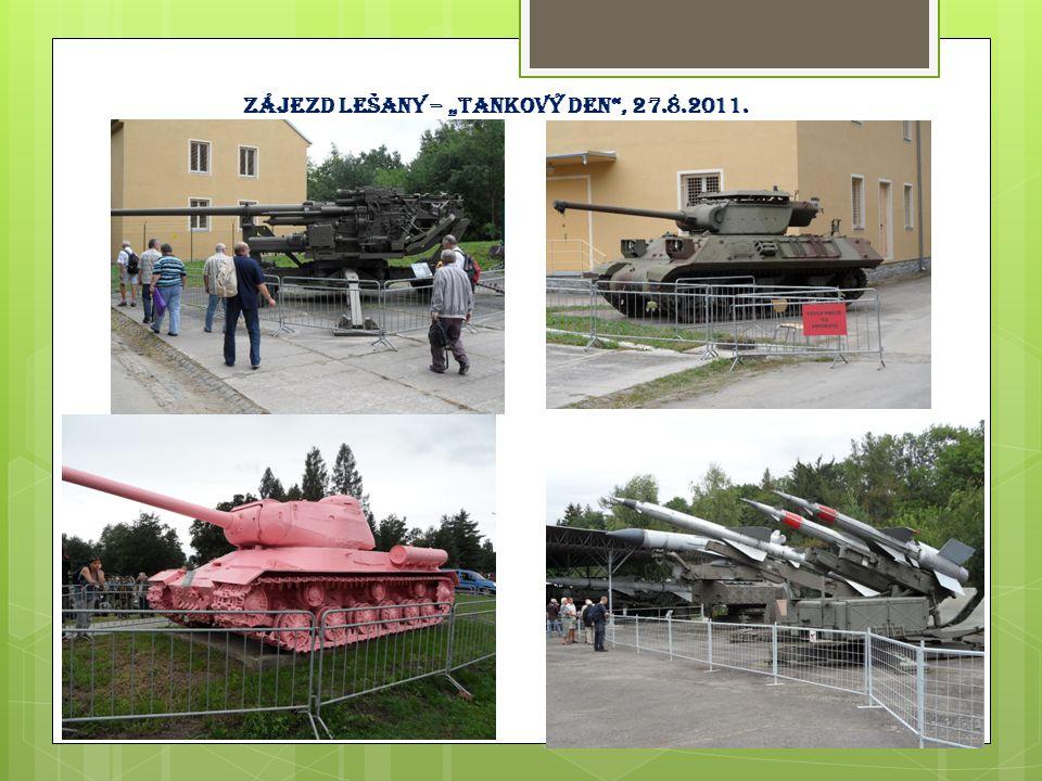 """Zájezd Lešany – """"tankový den"""", 27.8.2011."""