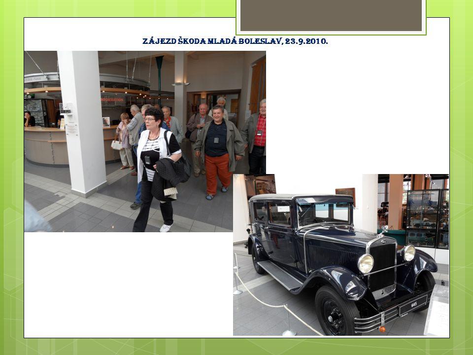 Zájezd Letecké muzeum Praha Kbely, 23.9.2010.