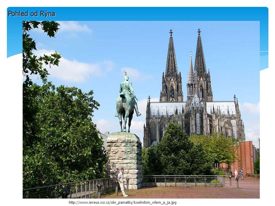 Pohled od Rýna http://www.iereus.wz.cz/obr_pamatky/koelndom_vilem_a_ja.jpg