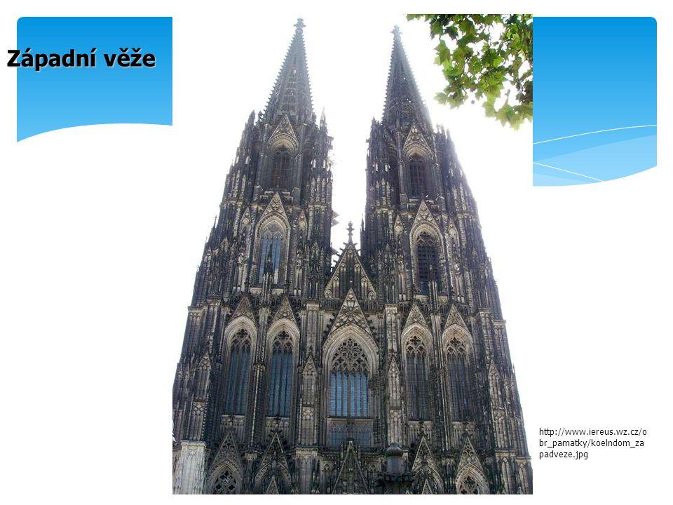 Západní věže http://www.iereus.wz.cz/o br_pamatky/koelndom_za padveze.jpg