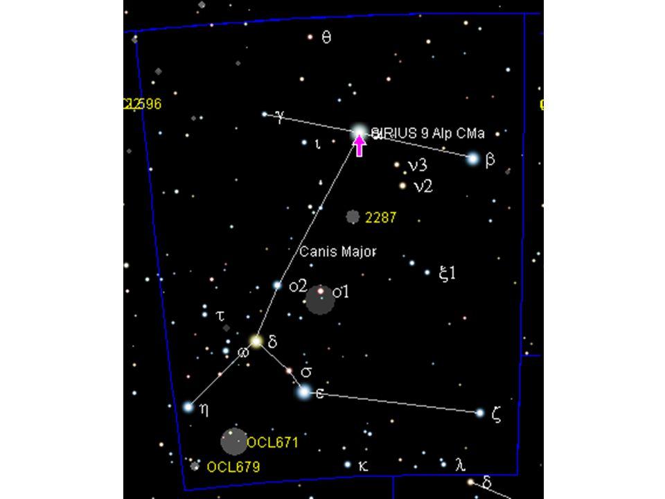 Paralaxa •Paralaxa hvězdy Sirius byla změřená na 0,00021075° •Kolik světelných let je od nás Sirius vzdálen •Vypočítej a zkontroluj na dalším snímku