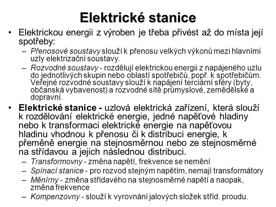 Elektrické rozvody v obytných budovách •Každé odběrné zařízení (což je rodinný dům, bytový dům, chalupa atd.) se připojuje přípojkou k rozvodu dodavatele elektřiny.