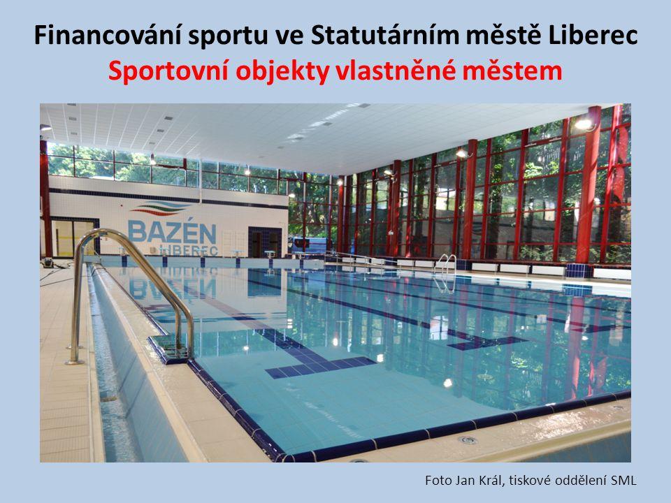 Financování sportu ve Statutárním městě Liberec Sportovní objekty vlastněné městem