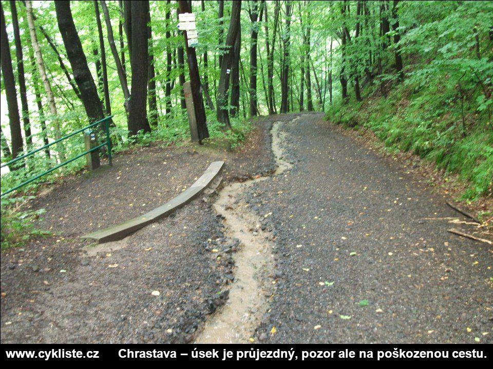 www.cykliste.cz Chrastava – úsek je průjezdný, pozor ale na poškozenou cestu.