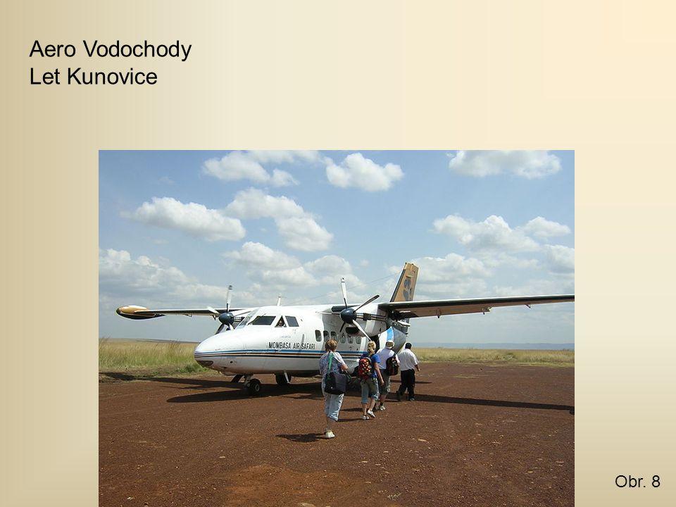 Aero Vodochody Let Kunovice Obr. 8