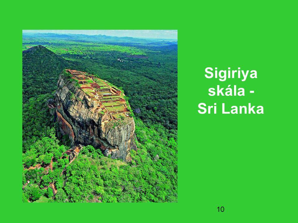 10 Sigiriya skála - Sri Lanka