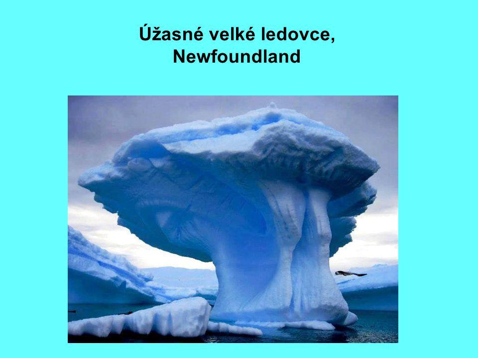 18 Úžasné velké ledovce, Newfoundland