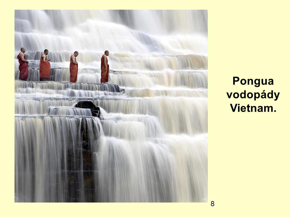 8 Pongua vodopády Vietnam.