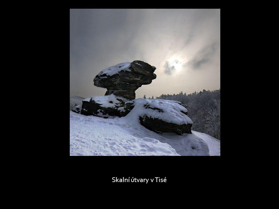 Pohádková zima, rozhledna na Děčínském Sněžníku
