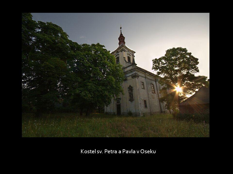 Nádvoří oseckého kláštera