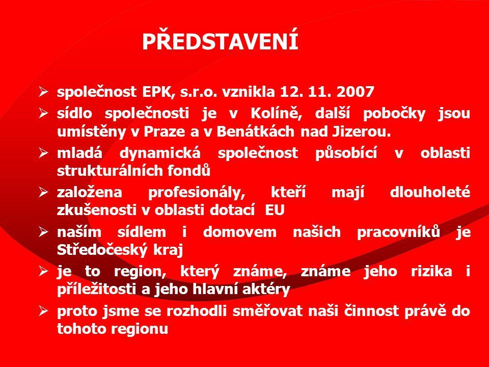  společnost EPK, s.r.o. vznikla 12. 11.