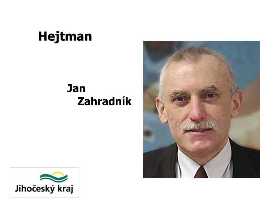 Hejtman Jan Zahradník
