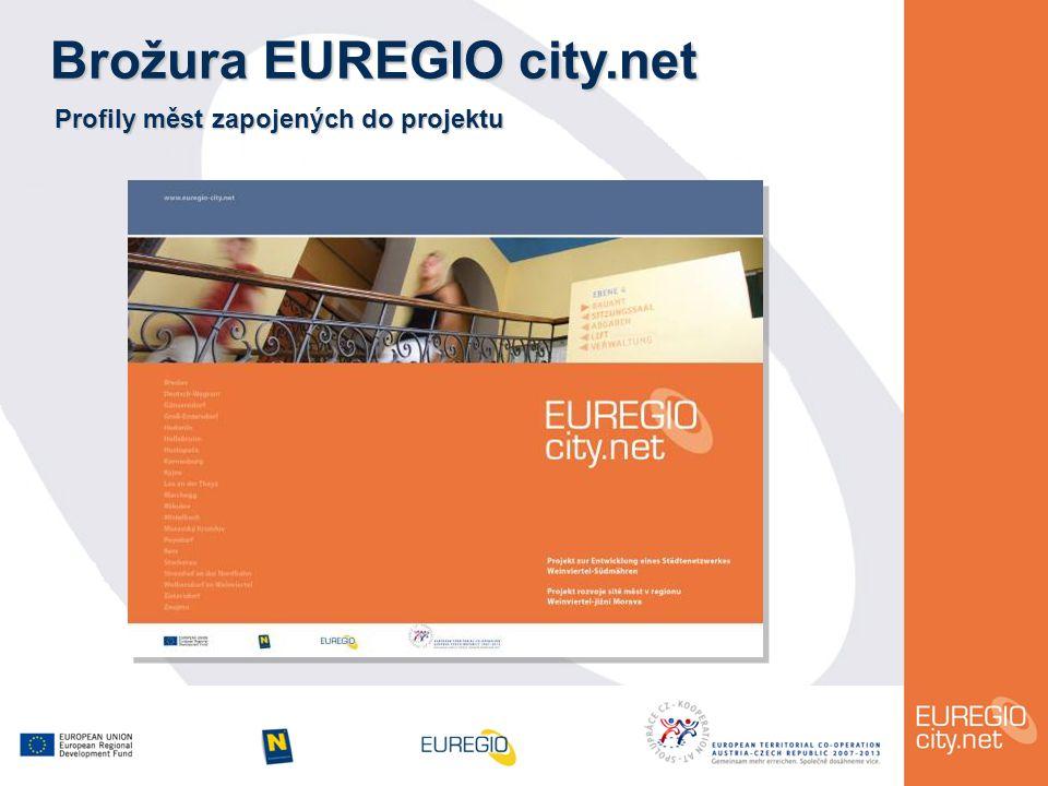 Brožura EUREGIO city.net Profily měst zapojených do projektu