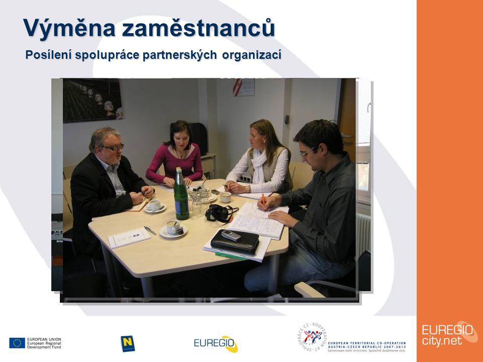Výměna zaměstnanců Posílení spolupráce partnerských organizací