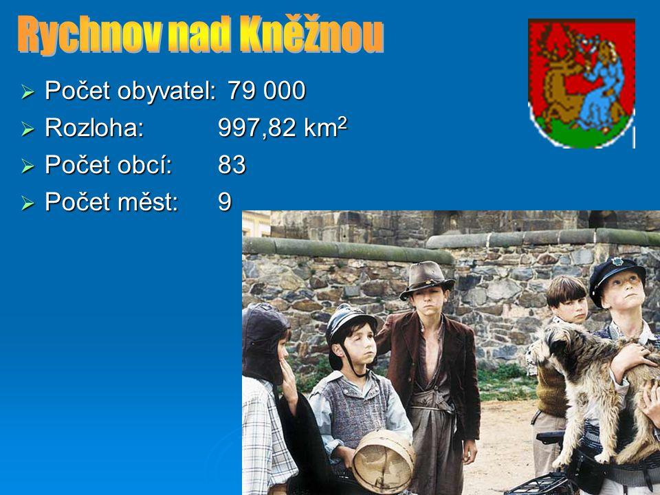  Počet obyvatel: 112 400  Rozloha:851,56 km 2  Počet obcí: 78  Počet měst: 10