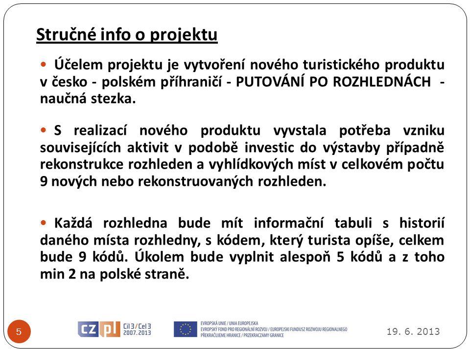Stručné info o projektu 19.6.
