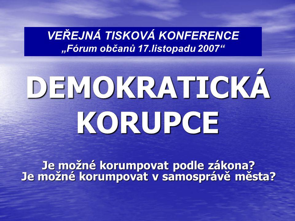 Komentář k následující straně: Protože jsou koaliční většinou ODS a ČSSD a spol.