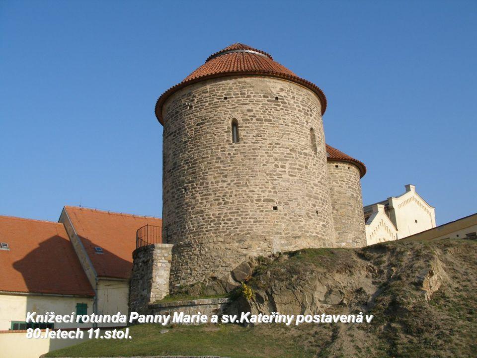 Knížecí rotunda Panny Marie a sv.Kateřiny postavená v 80.letech 11.stol.