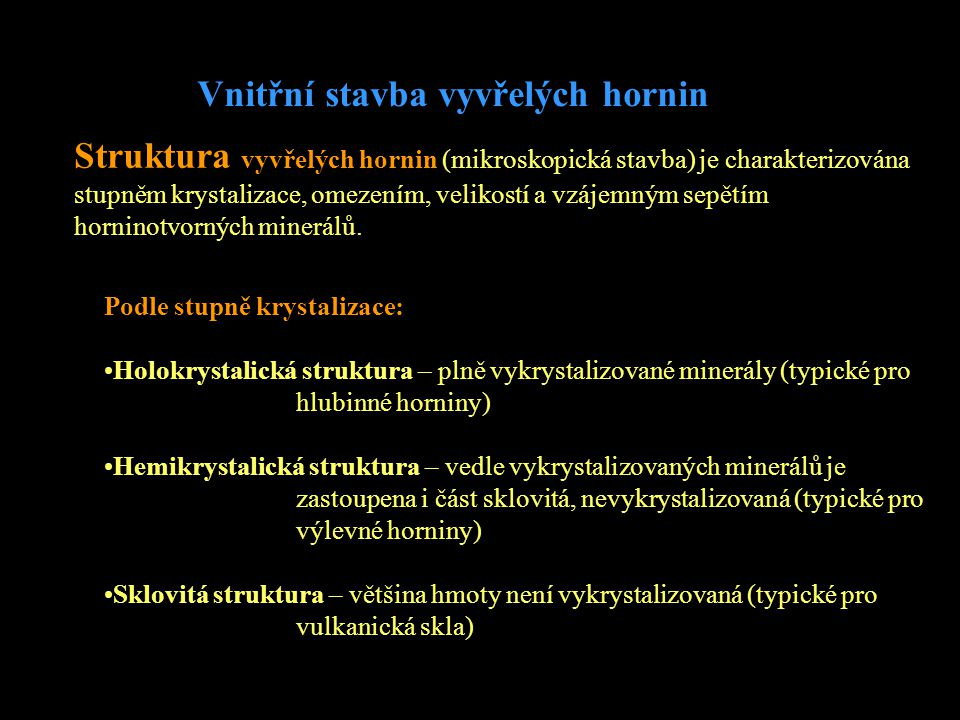 Holokrystalická struktura