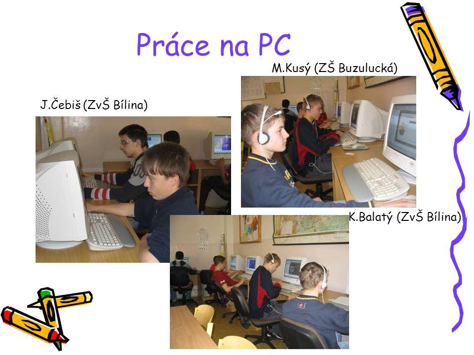 Práce na PC organizovala J.Machová Práce na PC Ta paní učitelka asi špatně zaostřila