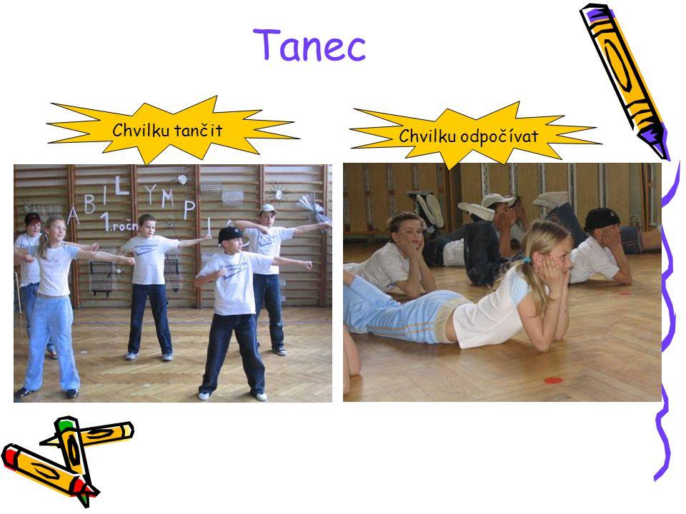Tanec organizovala L.Bašová Tanec Ne, ne, ne kluci. Já už jsem dobreakovala !