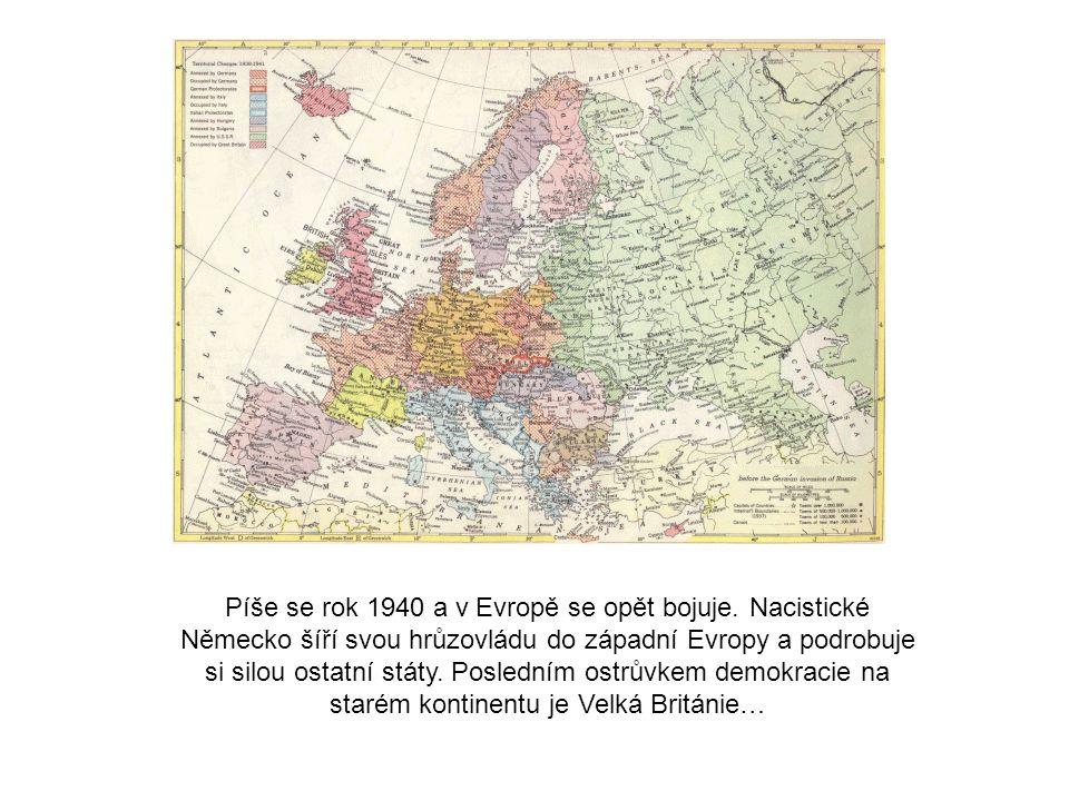 Píše se rok 1940 a v Evropě se opět bojuje. Nacistické Německo šíří svou hrůzovládu do západní Evropy a podrobuje si silou ostatní státy. Posledním os