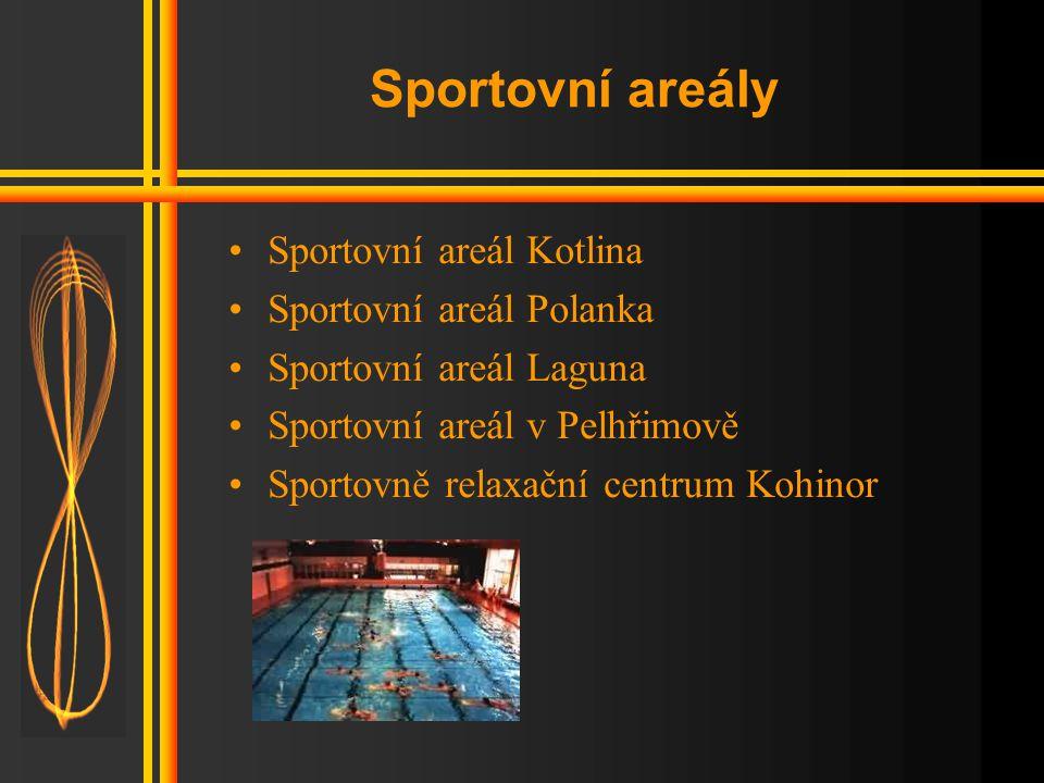 Sport v kraji •Sportovní areály •Sportovní možnosti •Sportovní akce •Možnosti koupání •Osobnosti sportu