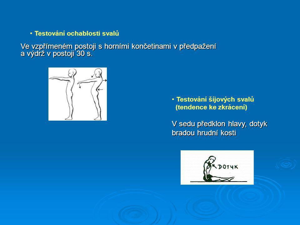 Příčiny nesprávného držení těla  vrozené vady  úrazy  prodělaná onemocnění  nedostatek pohybu  jednostranná zátěž  nadměrný pohyb