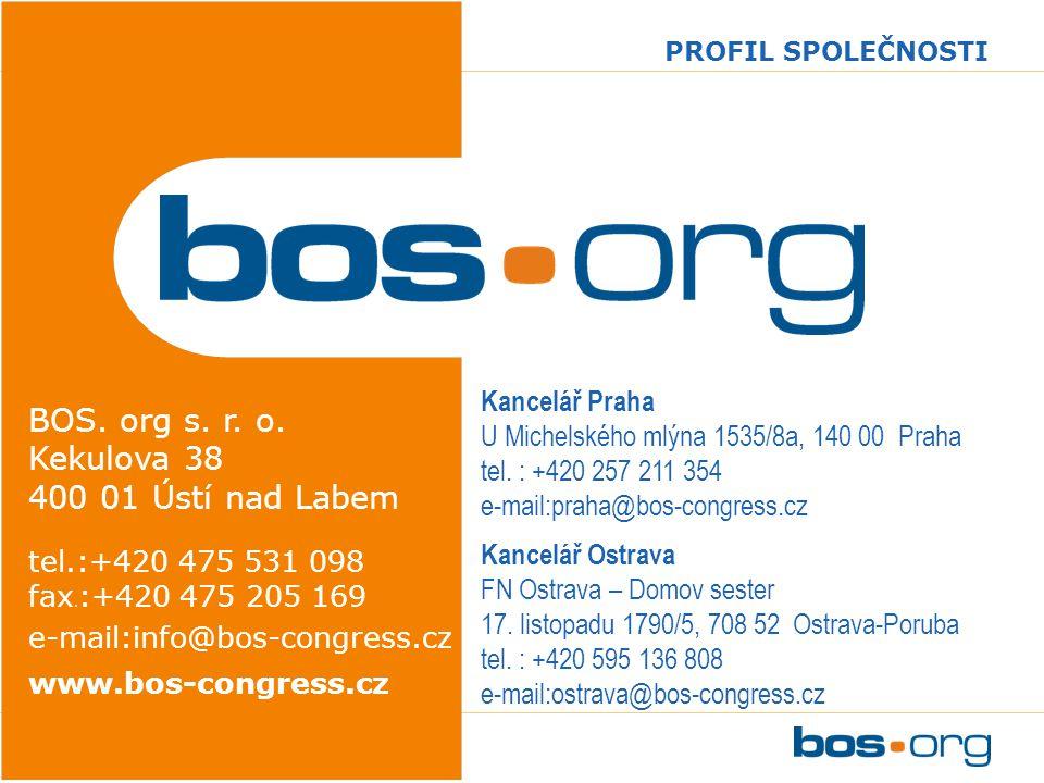 www.bos-congress.cz PROFIL SPOLEČNOSTI BOS. org s.