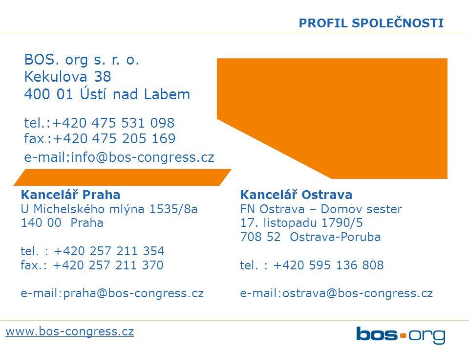 www.bos-congress.cz PROFIL SPOLEČNOSTI BOS.org s.