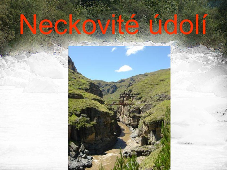 Neckovité údolí