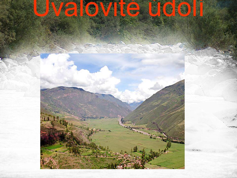 Úvalovité údolí