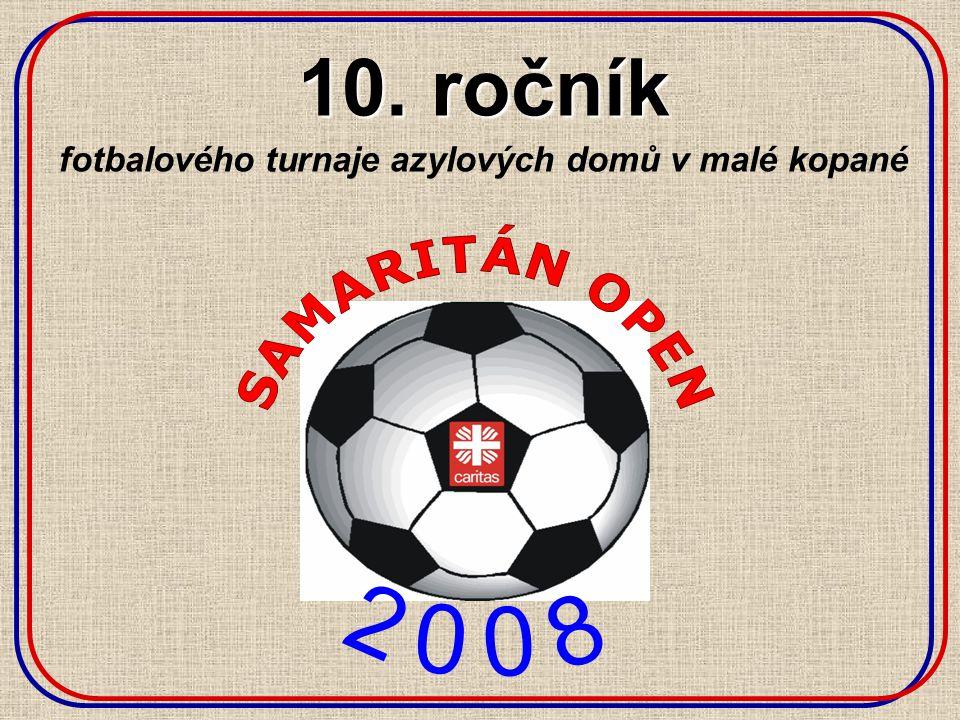 10. ročník fotbalového turnaje azylových domů v malé kopané