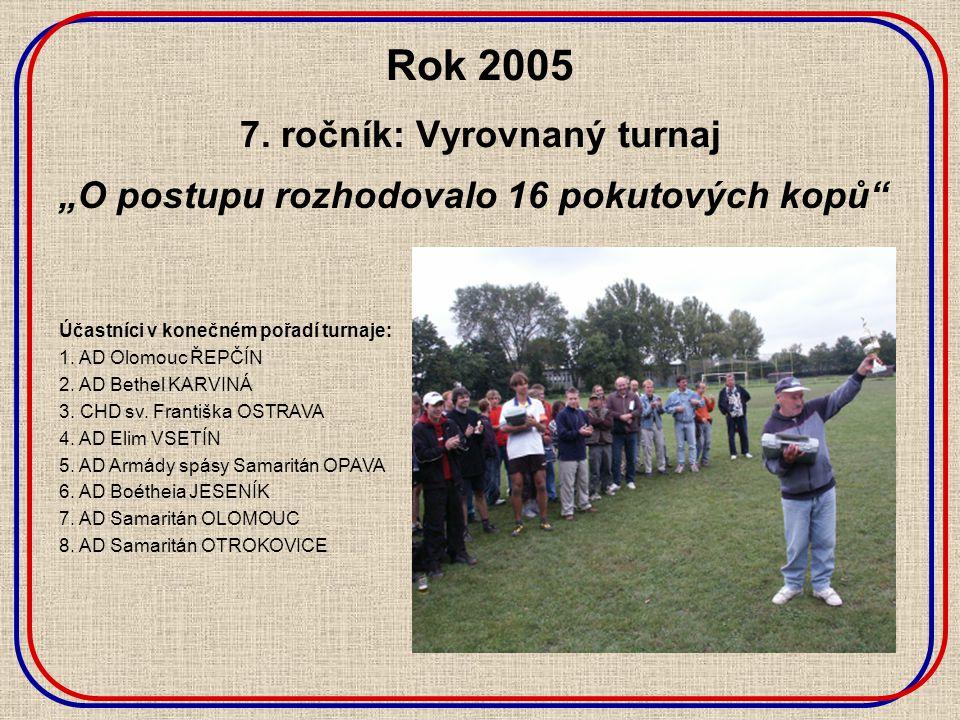 Rok 2005 7.