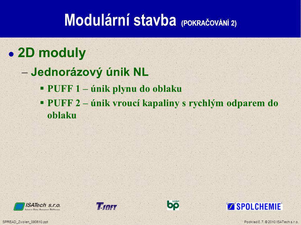 Podklad č. 28. © 2010 ISATech s.r.o.SPREAD_Zvolen_090610.ppt Koncentrace částic (POKRAČOVÁNÍ 1)