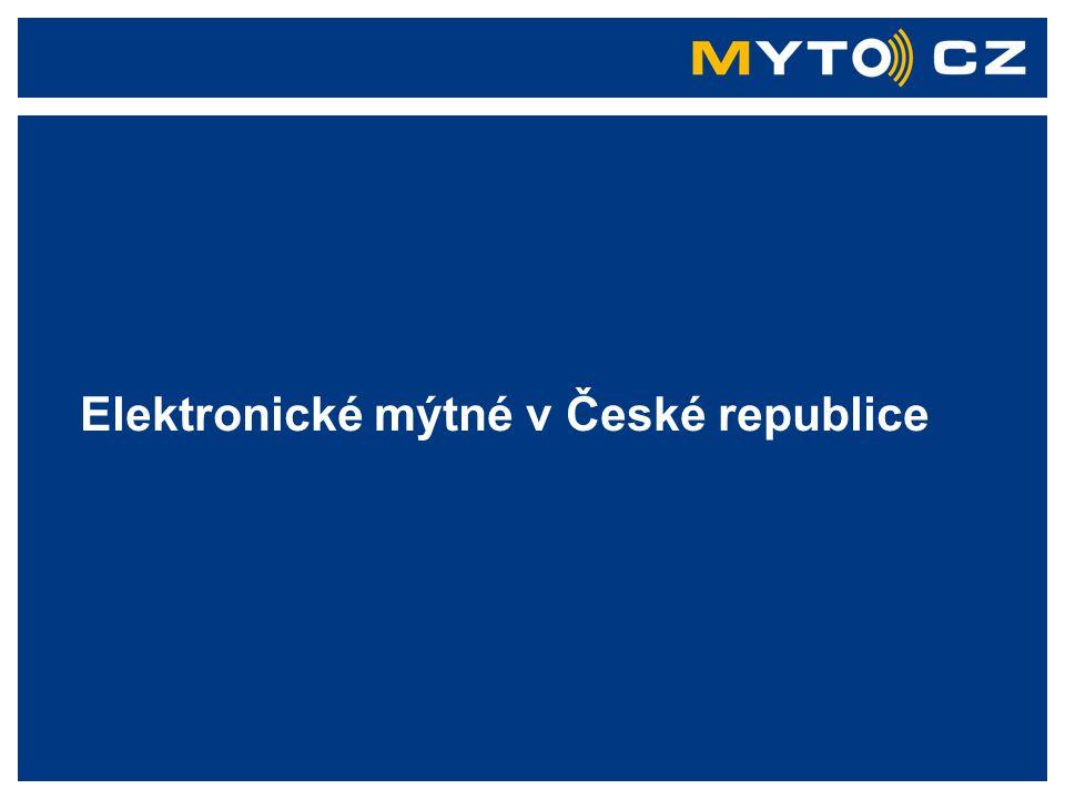 Kapsch TrafficCom AG All rights reserved Elektronické mýtné v ČR 6.10..2006 Systém elektronického mýtného