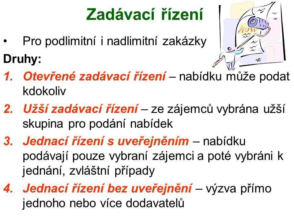 Prokázání jakosti a ochrany životního prostředí 1.Certifikátem systému řízení jakosti podle českých technických norem 2.Podobným certifikátem vydaným v členském státě Evropské unie