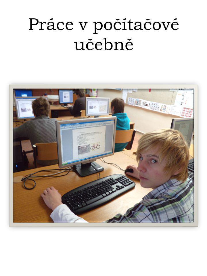 Práce v počítačové učebně