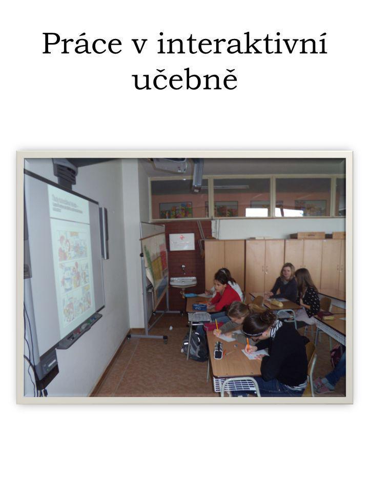 Práce v interaktivní učebně