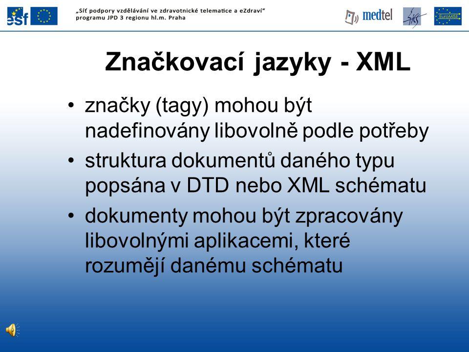 Část extrakční ontologie pro kontaktní informace na lékařských stránkách (Labský 2007 )...