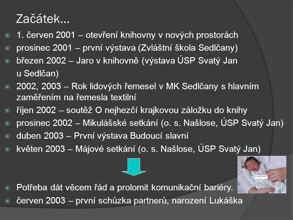 Pokračování…  říjen 2003 – komunitní projekt Lukášek (1.