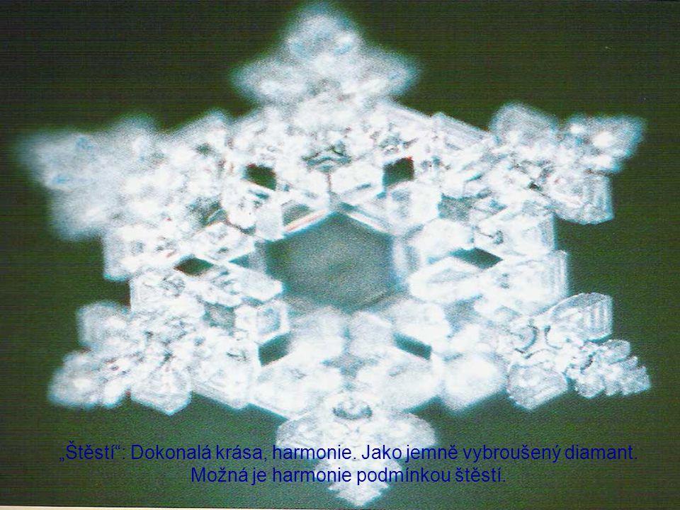 """""""Štěstí : Dokonalá krása, harmonie.Jako jemně vybroušený diamant."""