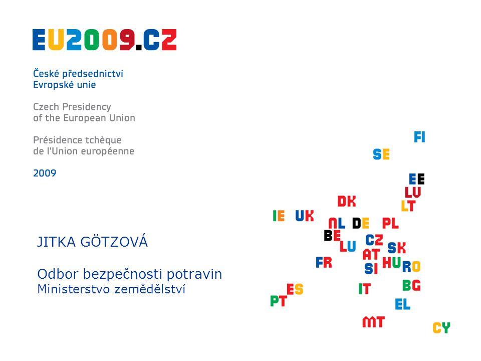 """Nejčastější typy nebezpečí dle přijatých oznámení GMP+ 3. března 2009 Praha """"Evropa bez bariér"""
