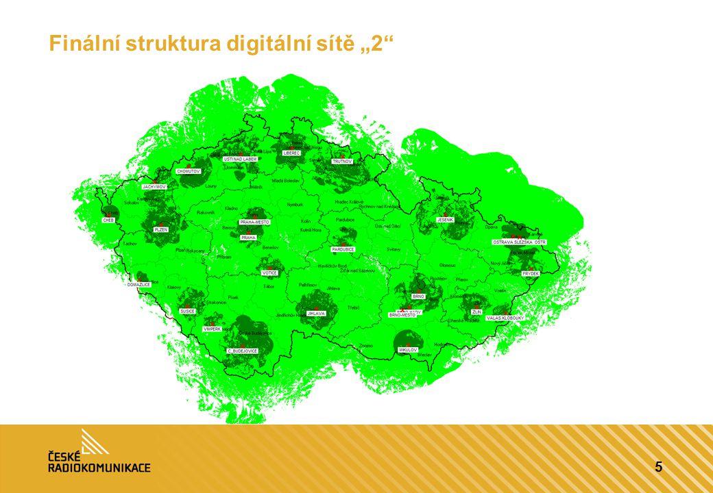 """5 Finální struktura digitální sítě """"2"""