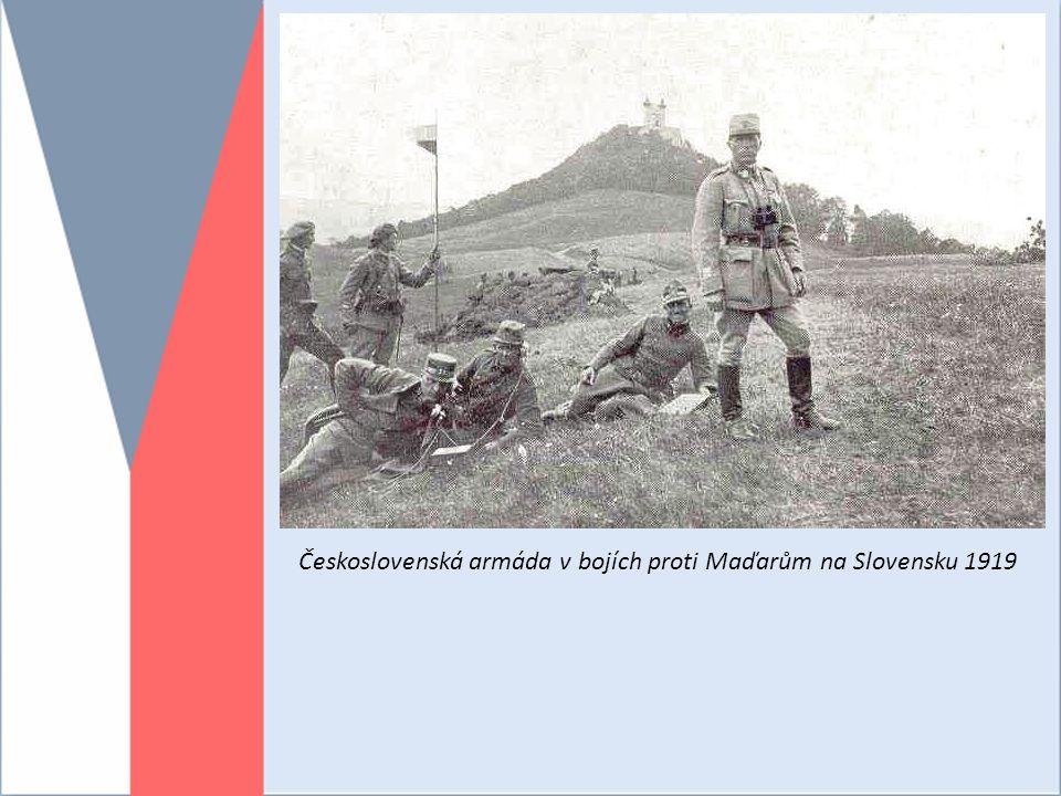 Československá armáda v bojích proti Maďarům na Slovensku 1919