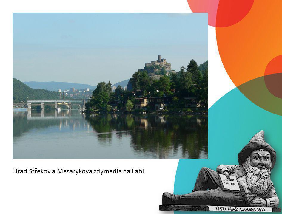 Hrad Střekov a Masarykova zdymadla na Labi
