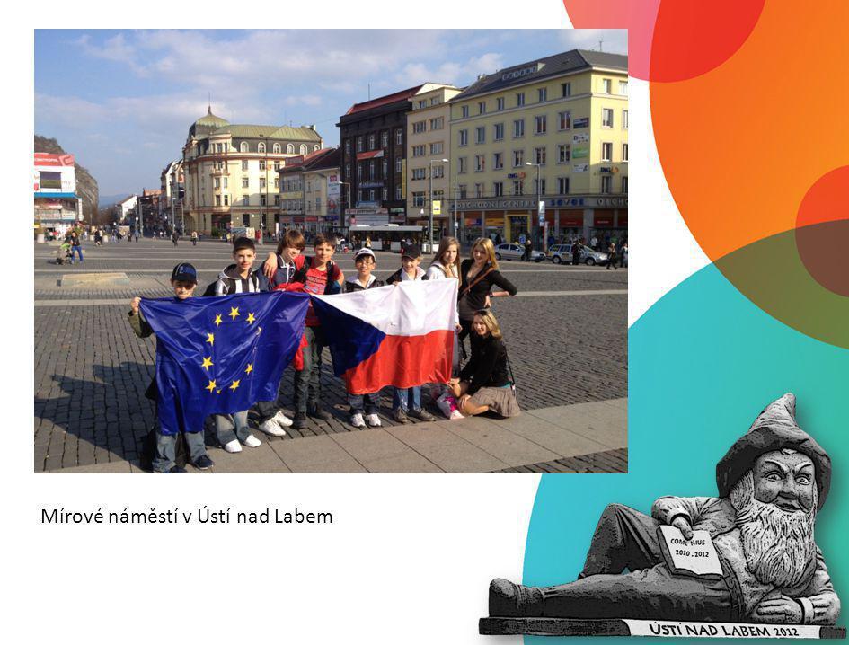 Mírové náměstí v Ústí nad Labem